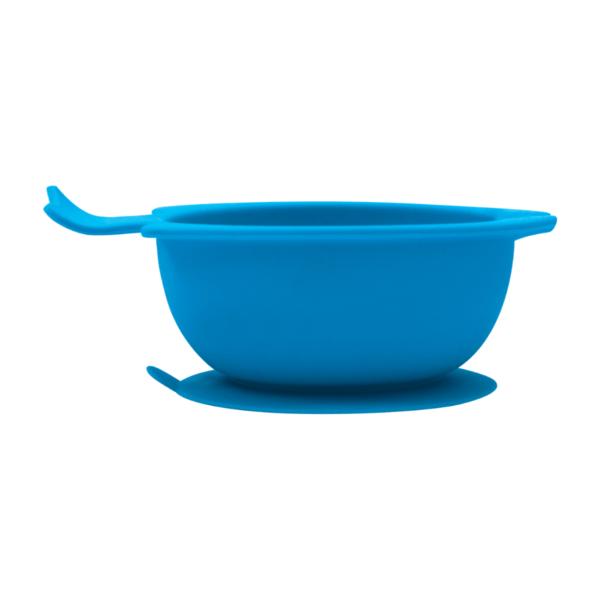 Bowl em Silicone Azul com Ventosa - Buba