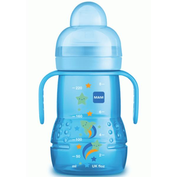 Copo Mam Trainer+ 220ml (4+ Meses) - Azul