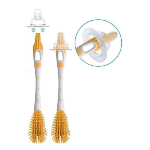 Escova Para Mamadeira e Bicos - Soft Brush - Amarelo - Mam