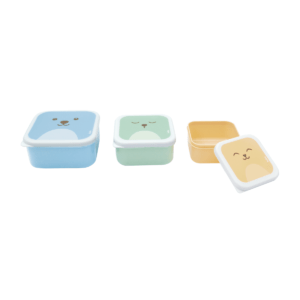 Kit 3 Potinhos Gumy Azul - Buba