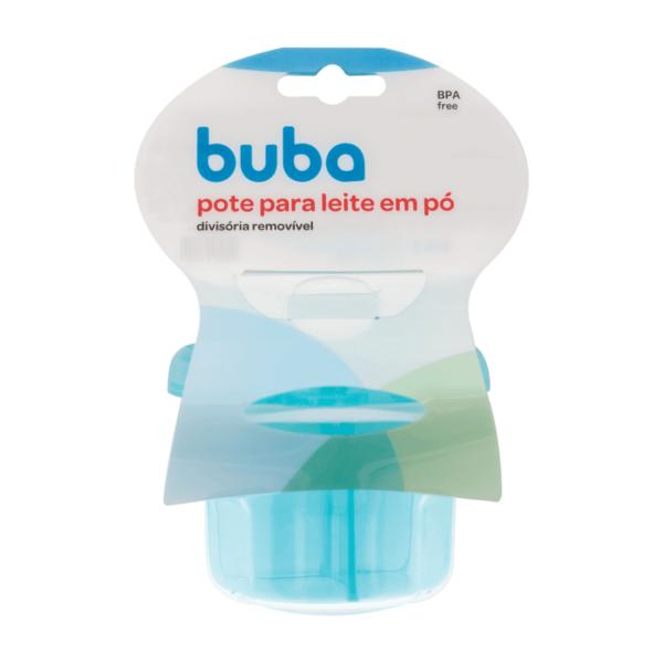 Pote Para Leite em pó - Azul - Buba