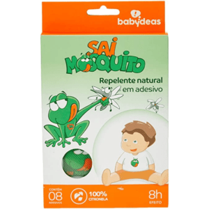Sai Mosquito - Adesivo Repelente Natural - Baby Deas