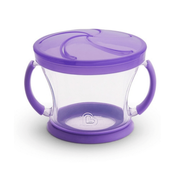 Kit 2 Potes Biscoito - Rosa/lilás - Munchkin
