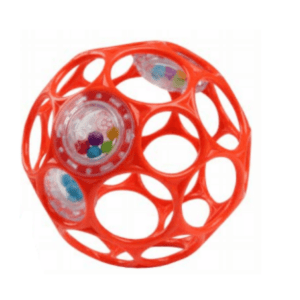 Red Oball Rattle - Bright Stars