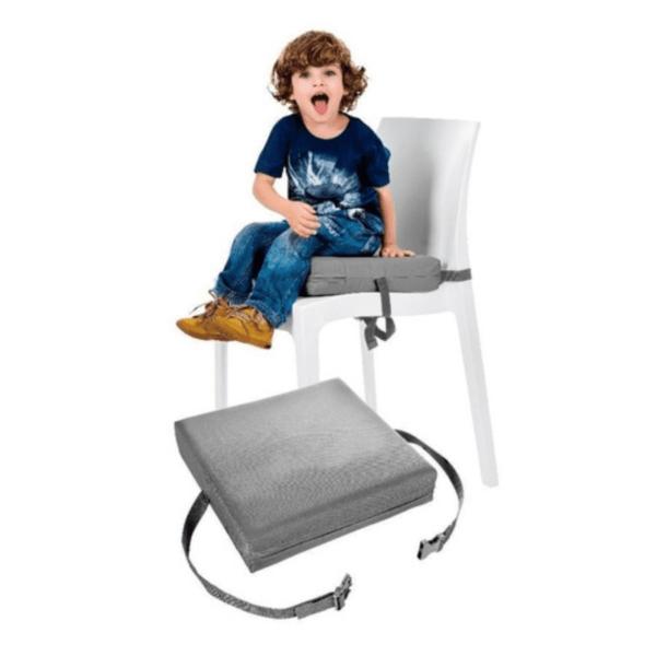 Almofada para Cadeira - Cinza - Kababy