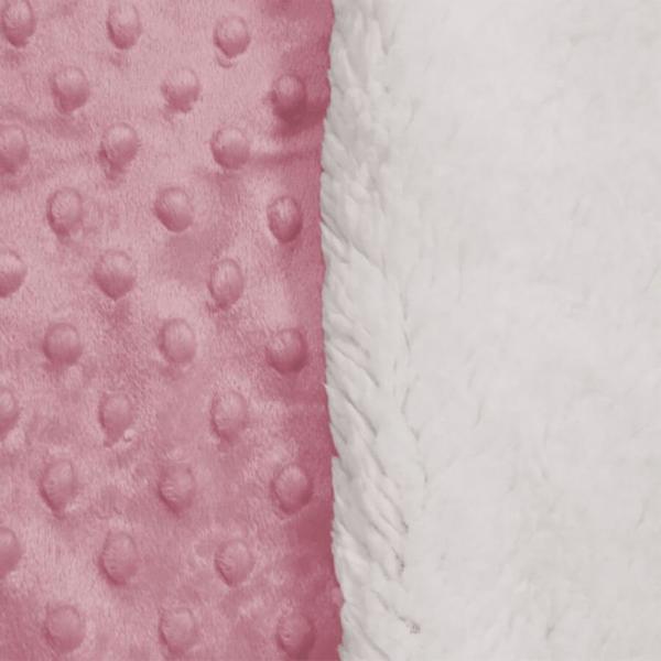 Cobertor Sherpam Dots - Laço (inf 0,90x1,10)