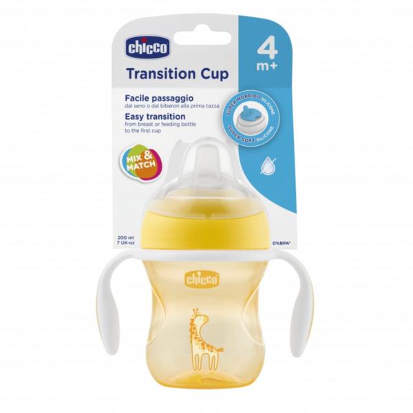 Copo Transition Cup 4m+ Neutro Amarelo