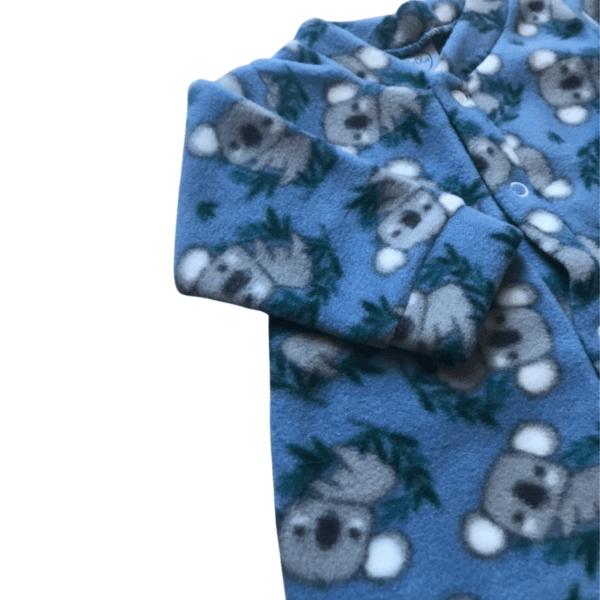 Macacão Soft Coalinha - Azul Denim - 2 Anos - Piu Blu