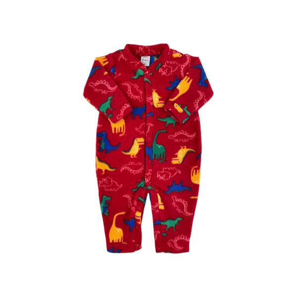 Macacao Soft Dino - Vermelho - m