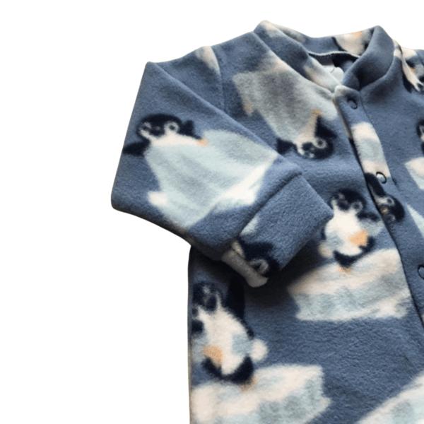 Macacao Soft Pinguim - Azul Denim - 2